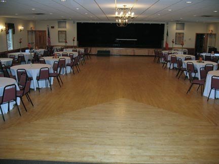 Irish American Home Society Inc Upper Hall - Irish dance floor for home